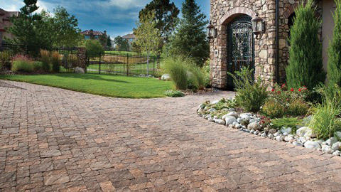 Woerner Landscape sells paving stones in many shapes, sizes, and colors