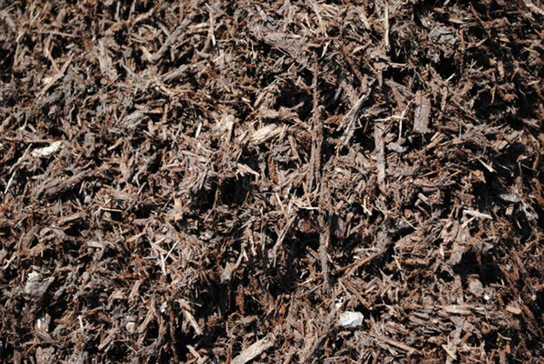 brown cypress mulch