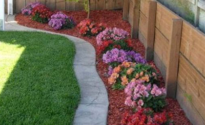 Simple Front Yard Landscaping Design
